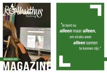 Online onze nieuwe magazine lezen??