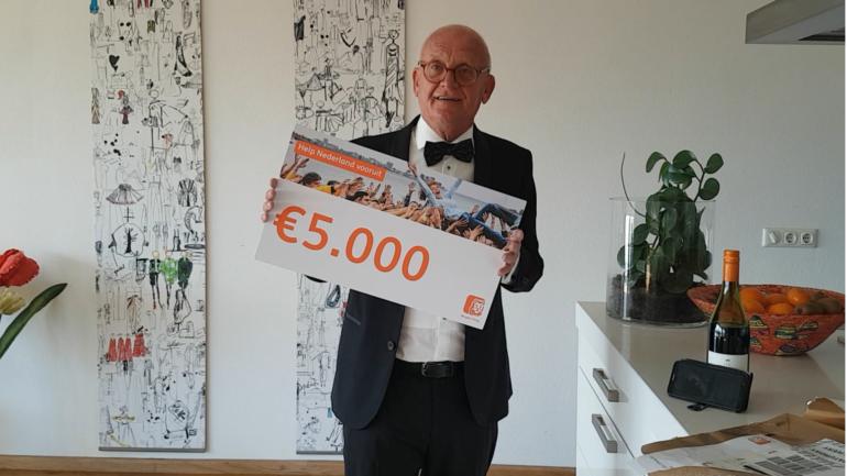 Eerste plaats en €5000